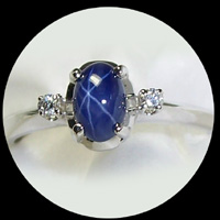 Star Sapphire Rings