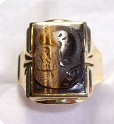 Men's Tigereye Ring