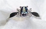 Women's Alexandrite Ring