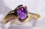 Women's Amethyst Ring