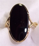 Women's Black Onyx Ring
