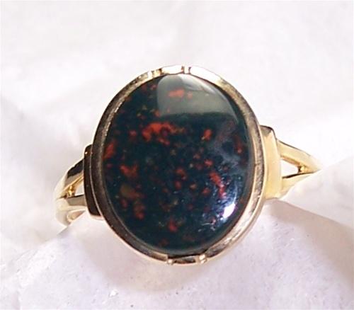 Women S Bloodstone Ring