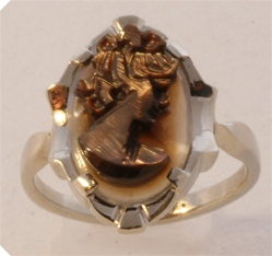 Women's Cameo Ring