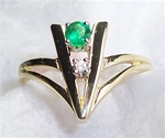 Women's Emerald Ring