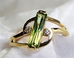 Women's Peridot Ring