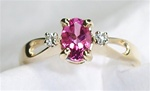 Women's Pink Tourmaline Ring