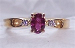 Women's Ruby Ring