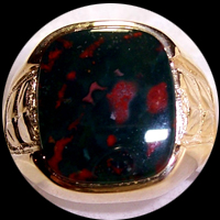 Bloodstone Rings