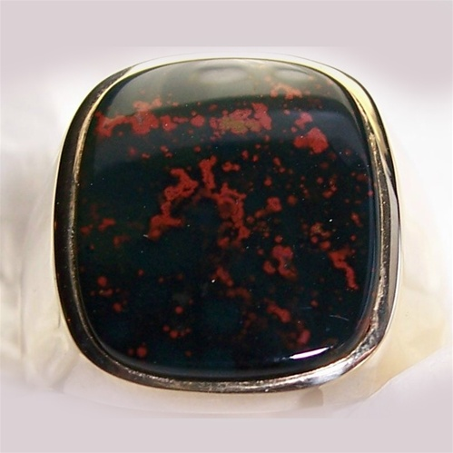 Men S Bloodstone Ring