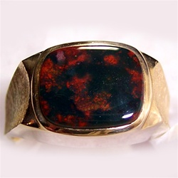 Men S Bloodstone Ring
