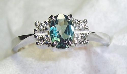 Women S Genuine Alexandrite Ring