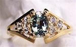 Women's Genuine Alexandrite Ring