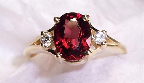 Women S Garnet Ring