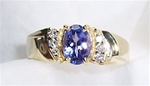 Women's Tanzanite Ring